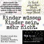 Exklusives Kartenset von Kindherzgedanke - 5 Stück