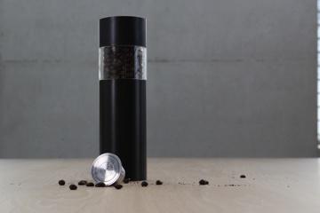 Kaffeemühle für wieder befüllbare Kapseln