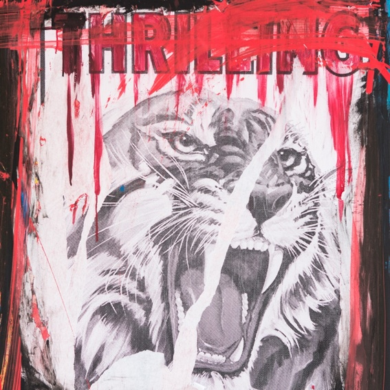 """Anton Unai's Artpiece """"The Tiger"""""""