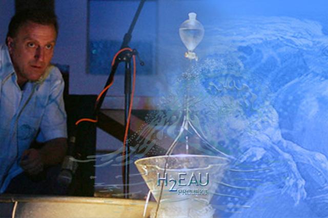 Einzigartige MUSIK mit Wasser: H2eau CD Produktion
