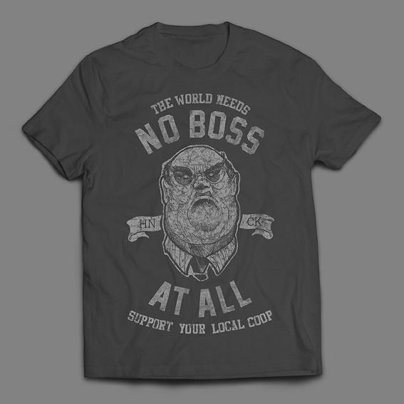 """""""No Boss At All"""" T-Shirt"""