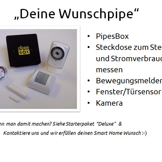 """PipesBox + Starterpaket """"Deluxe"""" + Deine Wunschpipe"""