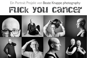 Fuck you cancer - Foto - Wander- Ausstellung