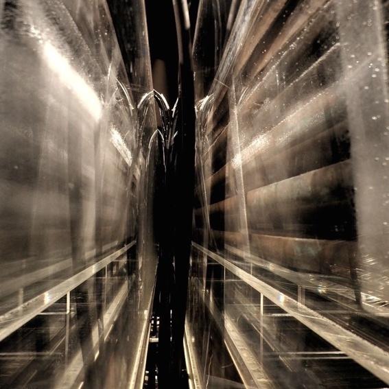 """Foto """"Perspectives"""" Druck auf ... aus der Fotoserie """"im Eis"""""""