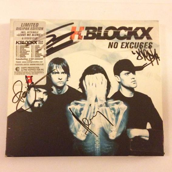 """Signiertes H-Blockx Album """"No Excuses"""""""