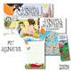 "Buch ""Pinipas Abenteuer Band 2"" mit Signatur, Europakarte, Notizblock"