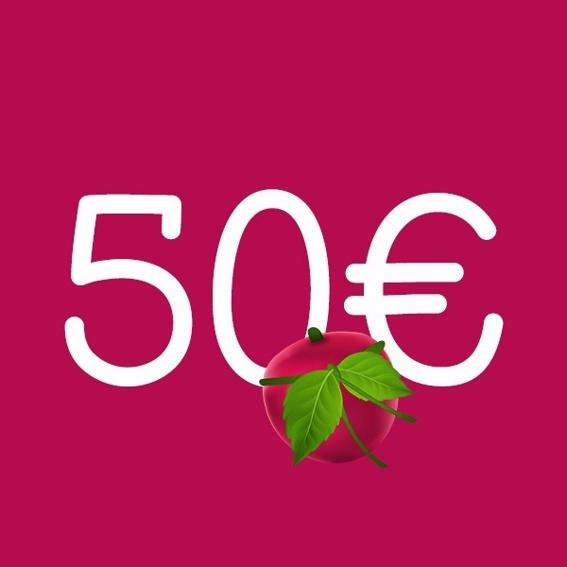 50 € Gutschein von Unverschwendet (limitiert)