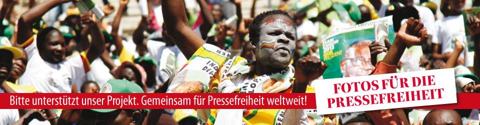 Fotos für die Pressefreiheit