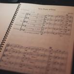 Klavierpartitur von 2 Songs + Schlafkonzert Rückzugsort CD