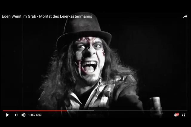 Eden Weint Im Grab – Videoproduktion 2017