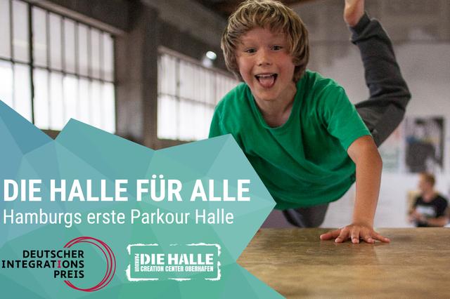 Parkour - Die Halle für Alle!