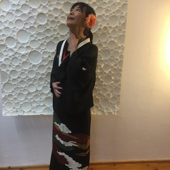 Kimono der Komponistin