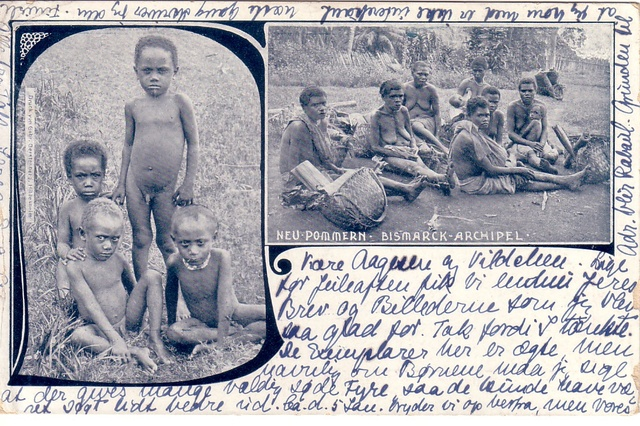 Deutsch 1914 / Papua Niugini 2014