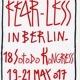 Fear - Less in Berlin / S.P. 38 (Sylvian Perrier)