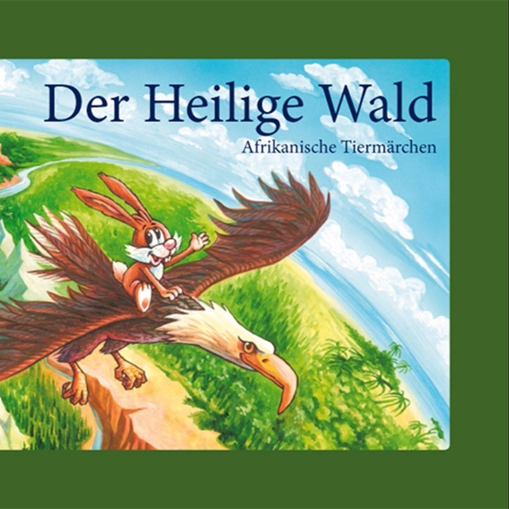 """signiertes Märchenbuch """"Der Heilige Wald"""""""