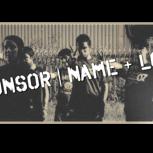 Nennung als Sponsor mit deinem Namen und Firmenlogo