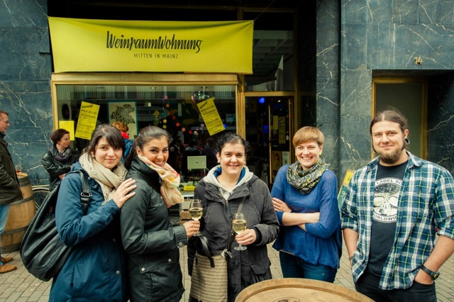 Die Weinraumwohnung in der Mainzer Altstadt
