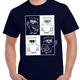 T-Shirt Lotsi im Quadrat