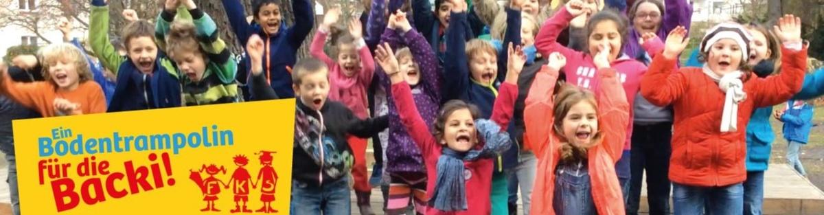 Bodentrampolin für Neuköllner Grundschule