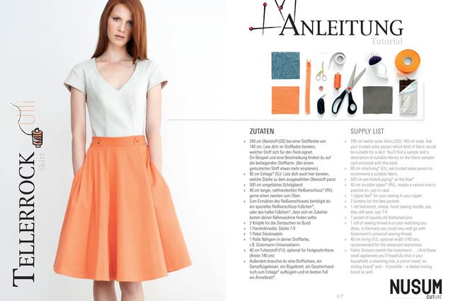 NUSUM CUTure - Ein Buch das Mode macht. Fashion to be made.