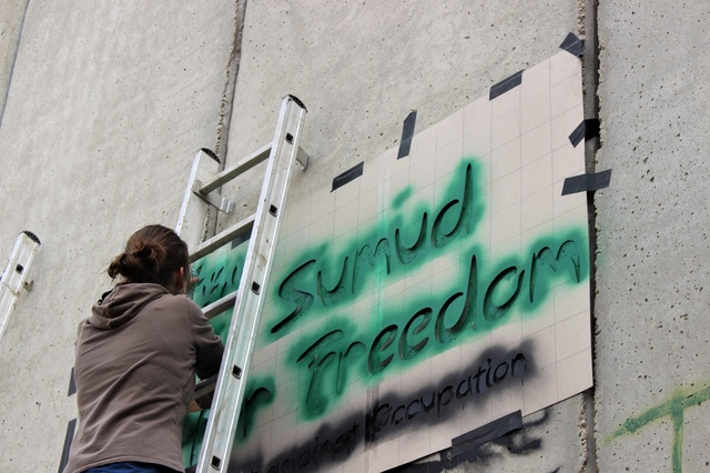 Sumud for Freedom - Art against occupation