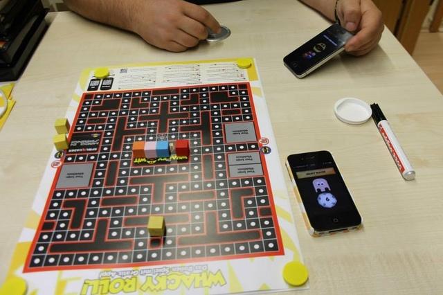 Whacky Roll - Das Arcade-Brettspiel aus der Rolle