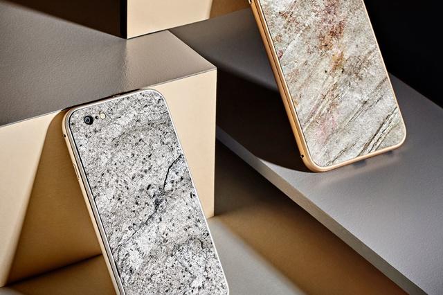 Smartphone Cases aus echtem Felsgestein