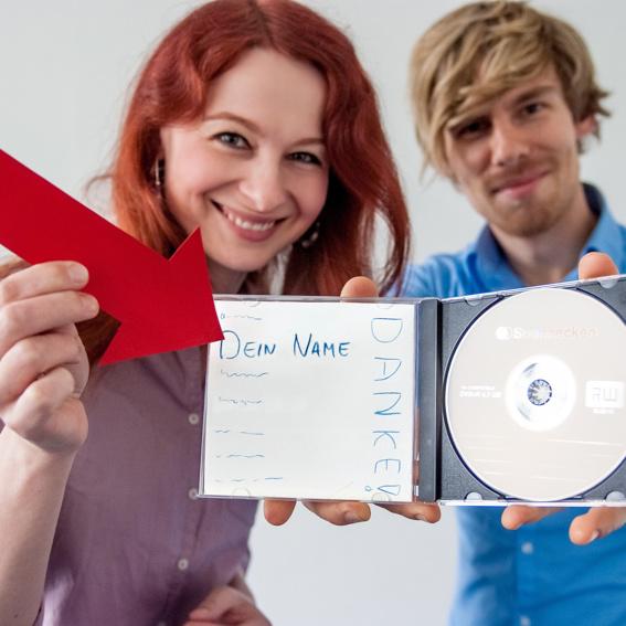 Feinschmecker-Platte (CD + Name im Booklet)