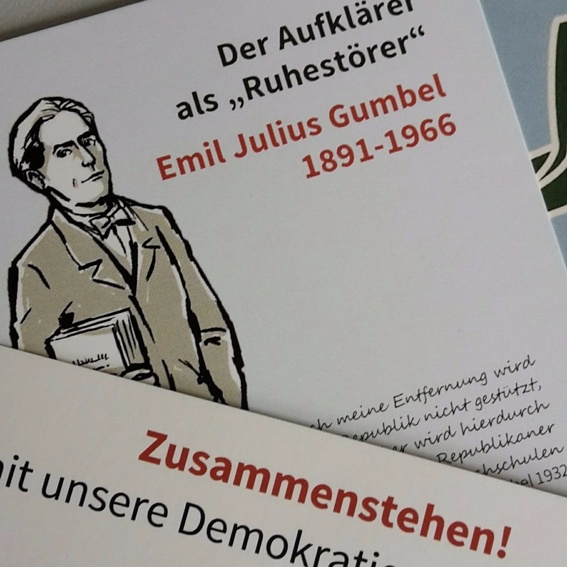 Gumbel-Postkartenset