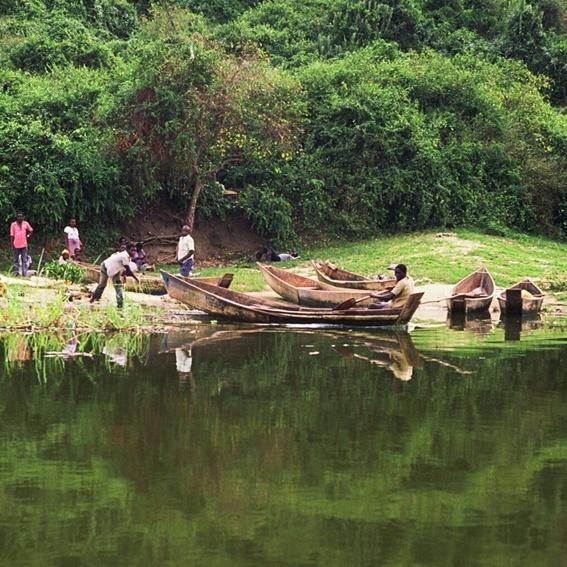 Postkarte & Bericht aus Uganda