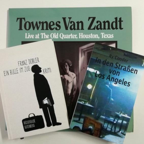 Franz Dobler (signierte Bücher) + Townes van Zandt