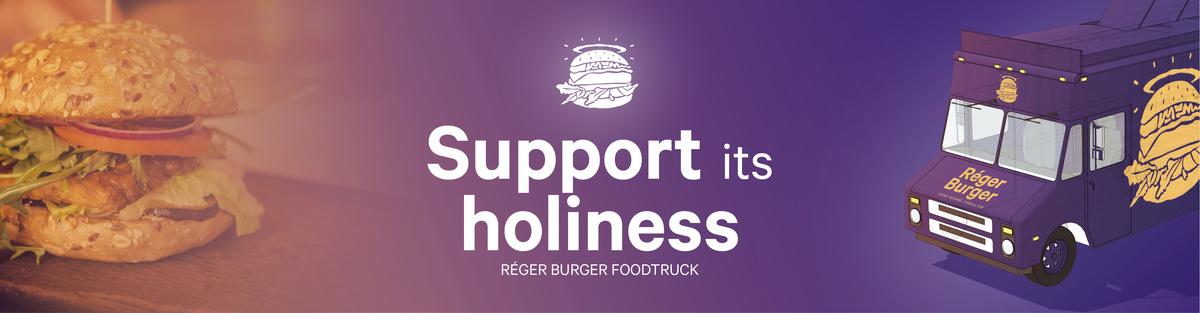 Réger Burger Vegan Foodtruck
