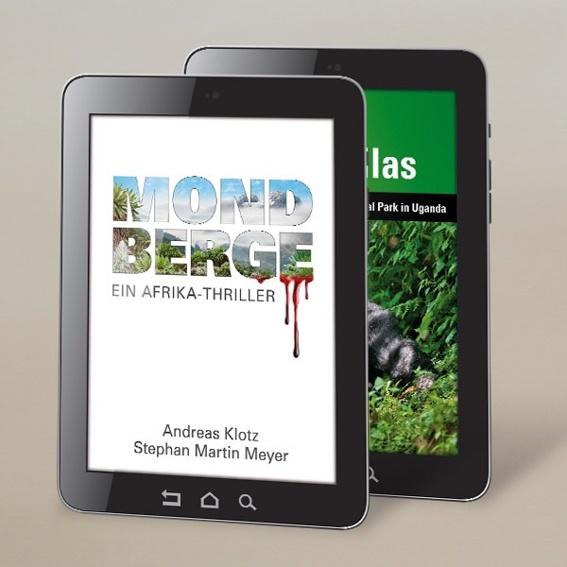 2 E-Books: Afrika-Thriller MONDBERGE und BERGGORILLAS