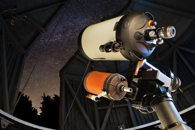 Neue Fernrohrmontierung für die Sternwarte Solingen