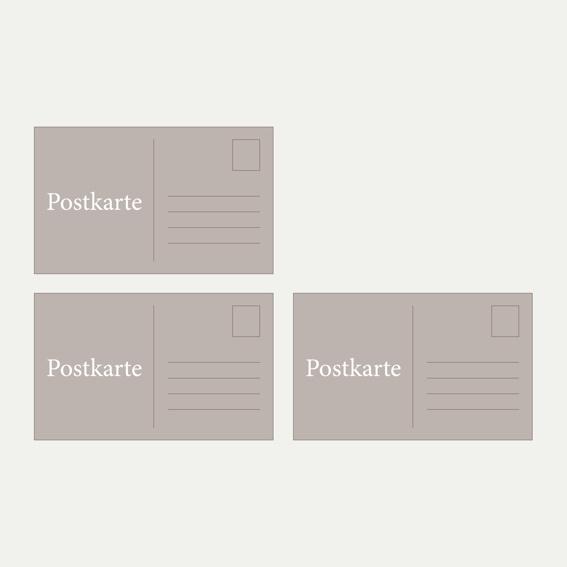 3x Motiv-Postkarten + Hall of Fame