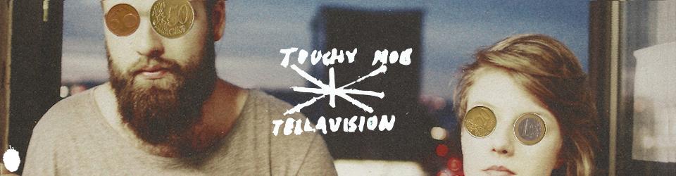 "Touchy Mob & Tellavision - Cake Split 12"" - pressing of the vinyl"