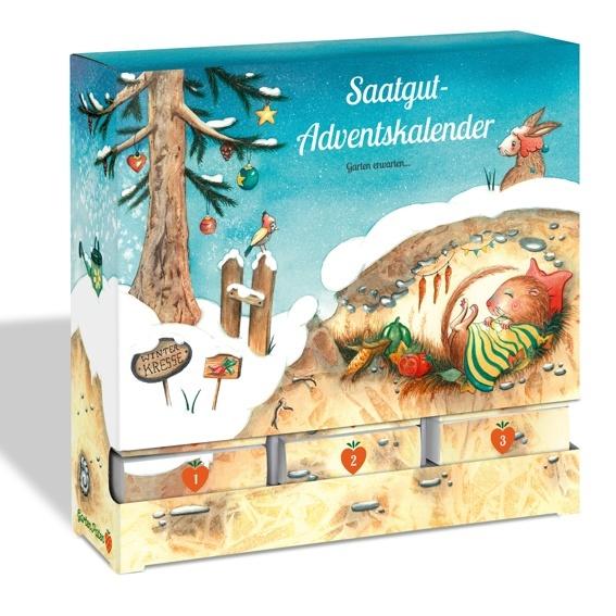 Bio-Saatgut Adventskalender: Für dich und für mich!