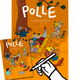 POLLE #1, signiert + Poster