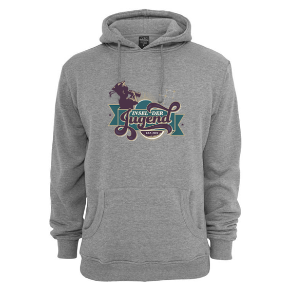 Hoody (black / grey)