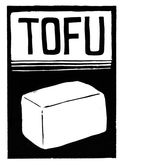 Aufnäher Tofu