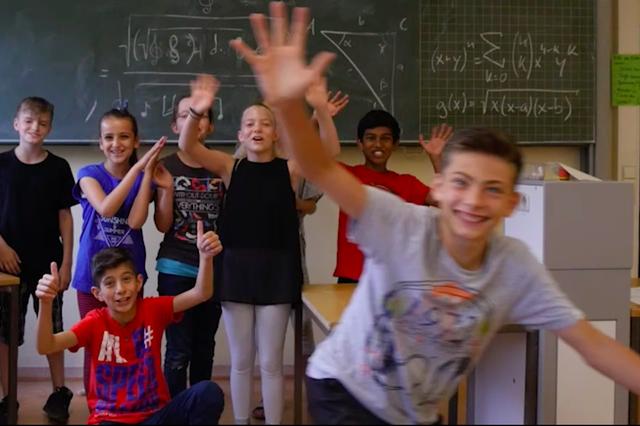 Bläserklasse an der Fritz-Karsen Schule