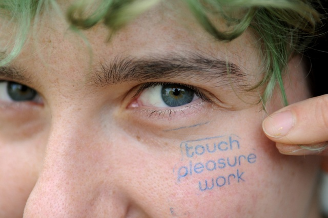 touch pleasure work