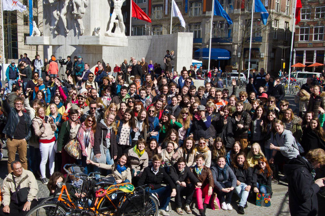Tagung internationaler Journalistik-Studenten in Köln