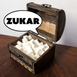 Sprechende Zukardose