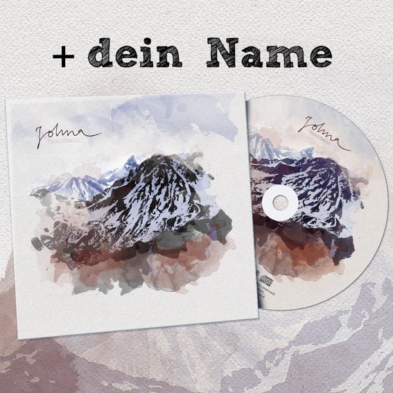 Die neue EP + dein Name in der Danksagung