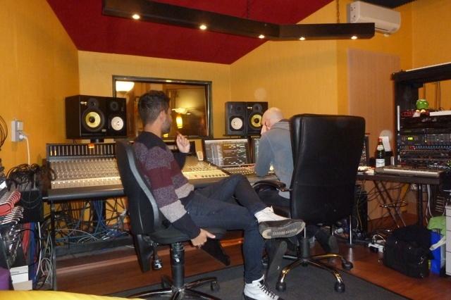 Produktion des 2. Studioalbums von Leslie Alan