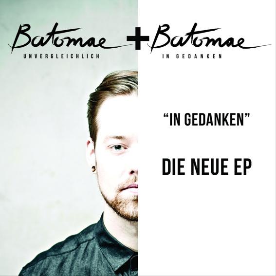 """Dein Name im Booklet der Doppel - EP """"In Gedanken/Unvergleichlich"""""""