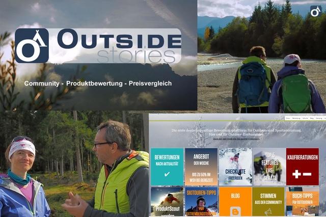 Outdoor-Community für Ausrüstung + Aktivitäten