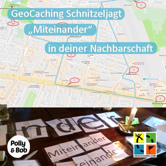 eine Geocaching Schnitzeljagd in deiner Nachbarschaft  + 6 Teona Tomi Postkarten (1 Set) + 6 Jahre Mitgliedschaft im Wert von 144 Euro
