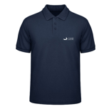"1 x Polo-Shirt ""Silicon Surfer - blue"""
